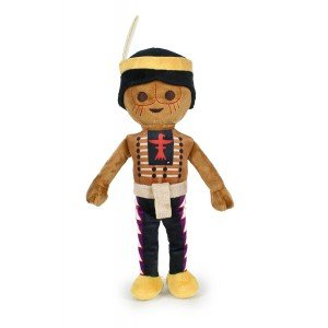 PLAYMOBIL - Peluche Indio 30cm - Calidad super soft