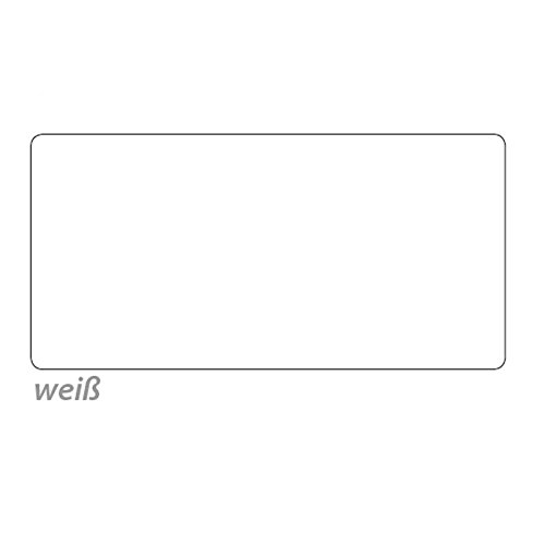 Tonpapier, 50 x 70 cm, 10 Bg., weiß - Bastelpapier Bastelkarton Tonkarton