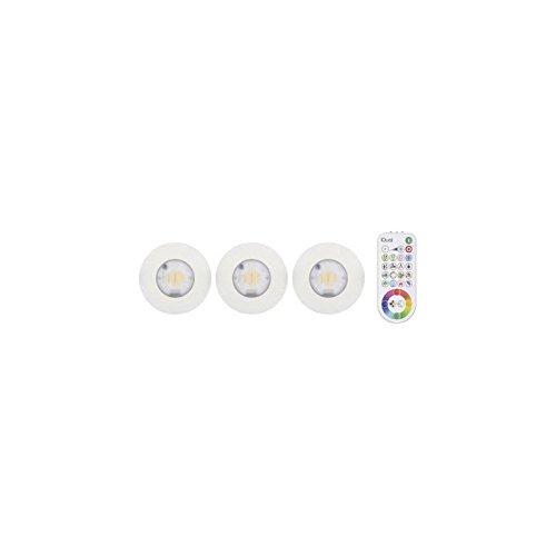 Jedi JE1295808iDual - lámpara, acrílico, color blanco, 17x 17x 9cm