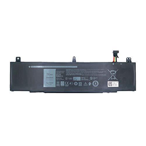 15.2V 76wh TDW5P Laptop Battery for DELL TDW5P Series Tablet