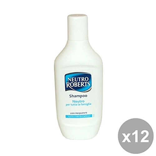 Set 12 ROBERTS Shampoo 500 Ml. Neutro Prodotti per capelli