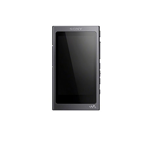 Sony NW-A45R High Resolution Walkman MP3 Player (16GB, Touchscreen, Digitalverstärker, Bluetooth, NFC, Hi-Res, bis zu 45h Akku) schwarz (Radio Mp3 Player Sony)