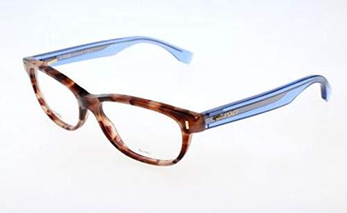 Fendi Damen FF 0034 7OK/15-52-15-135 Brillengestelle, Mehrfarbig, 52