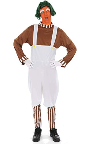 ORION COSTUMES Adult Men's Chocolate Worker