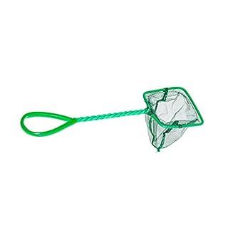 Fischfangnetz grün 8 x 7 cm 3`` Kescher Fisch fang Netz Garnelen Garnelenkescher