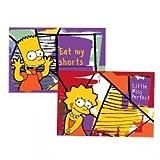 The Simpsons Simpsons Bart/Lisa Set Tovaglietta, Modello Bart/Lisa, Multicolore, 2 Unità