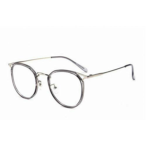 GBST multifocal Reading Glasses Frames Retro Men and Women Models Version of The Round Glasses Frames,A6