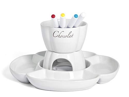 Home Chocolat juego Fondue Chocolate 4personas