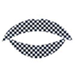 LT.14 - Lip Tattoo - Tatouage Lèvres Temporaire - Noir Blanc - Carreaux - 31567c10a55