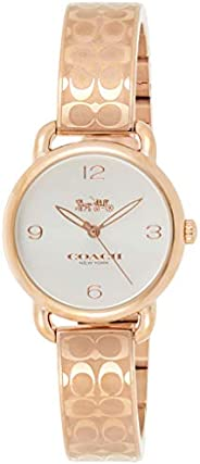 Coach Womens Quartz Wrist Watch, Analog and Stainless Steel- 14502893