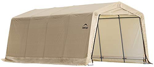 ShelterLogic Foliengarage Garage in-a-Box, 18,3m² grau, 300x610 cm (BxT); Foliengarage, Garage und Foliengerätehaus