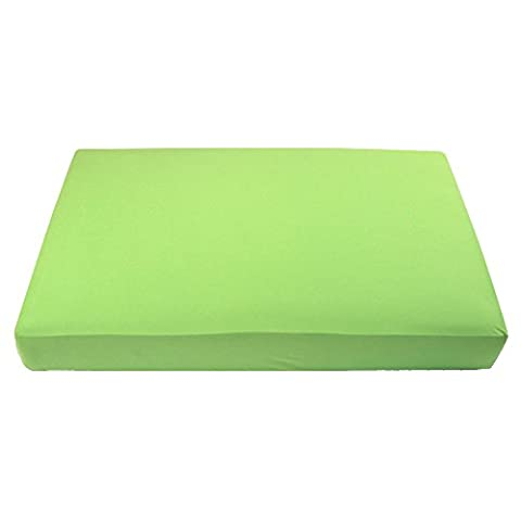 My Blankee Fitted Crib Sheet in Hypoallergenic Pima Cotton (Lime Green)