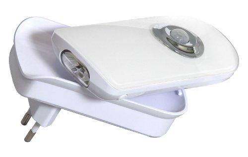 Smart Light 7000.066-B LED-Nachtlicht mit Bewegungsmelder, Taschenlampe [0,7 Watt]
