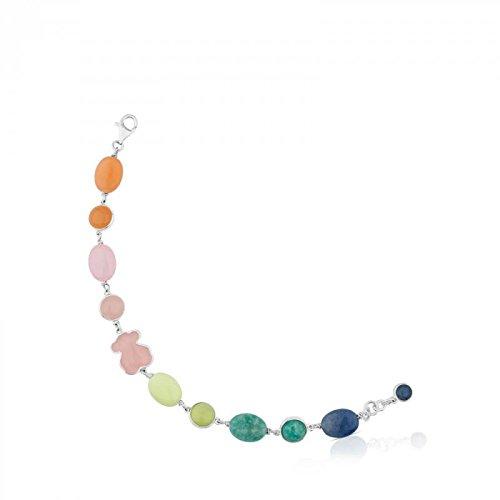 Bracciale Tous gemstone 615431690 Argento