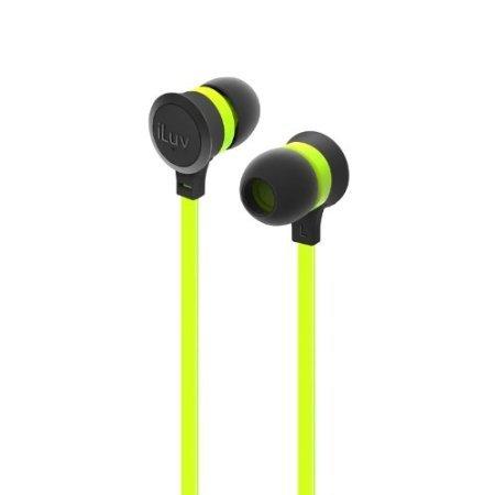 Laentina iLuv IEP334GRNN Neon Sound Hochleistungs-Kopfhörer grün -