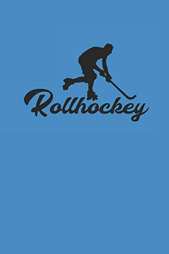 ROLLHOCKEY: Notizbuch Hockey Notebook Journal 6x9 Journal lined