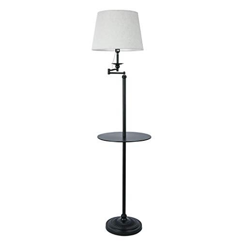 Einfache Wohnzimmer Rocker Arm Stehleuchte Sofa Couchtisch Lampe Ablage Stehleuchte.