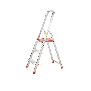TB Davies Light Duty 3 Tread Platform Step Ladders - Ideal aluminium steps for DIY jobs around your home. Made to EN131 Standards.