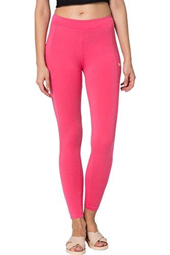 Chumbak Make Happy Basic Pink Leggings- XS