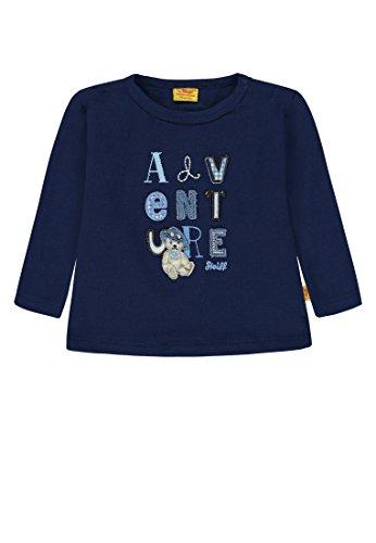 Steiff Steiff Baby-Jungen Langarmshirt T-Shirt 1/1 Arm, Blau (Medieval Blue 3062), 56