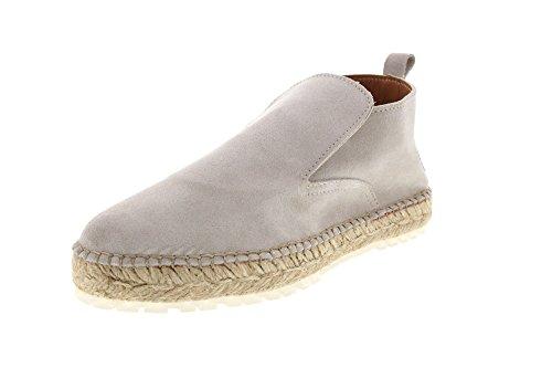 Shabbies Amsterdam Damen Shabbies Ankle Boot Espadrilles Off White
