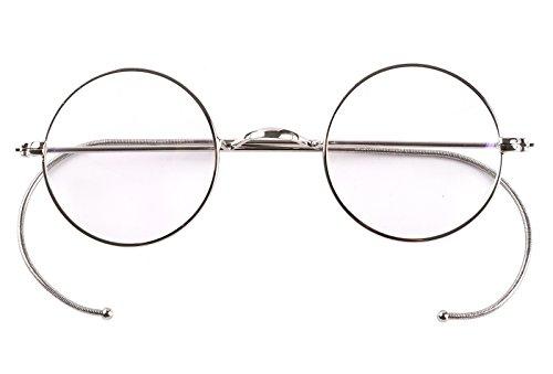 Agstum Herren Brillengestell Mehrfarbig Silber