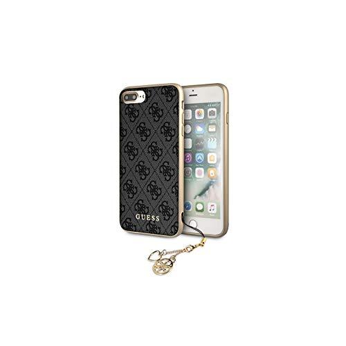 1219a9d639c GUESS - Funda Trasera Original Guess Charms 4G para iPhone 7 Plus / 8 Plus -