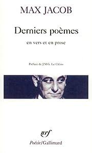 """Afficher """"Derniers poèmes en vers et en prose"""""""