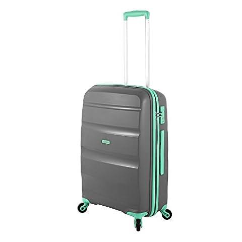 American Tourister Bon Air Reisetrolley M grey-mint 57,5 Liter LIMITIERT