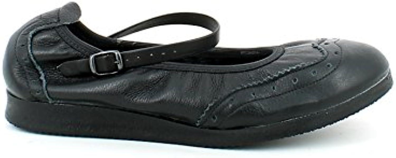 ANNIEL -Scarpe -Scarpe -Scarpe da Boogie in Pelle Nera con Cinturino | Ha una lunga reputazione  | Sig/Sig Ra Scarpa  59d366