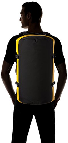 The North Face Base Camp Duffel Backpack – Golden/Black/Summit Gold/TNF Black, One Size/Small