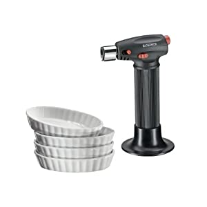 Küchenprofi Crème Brûlée Set 5tlg. Eco, Porzellan, Weiss, 15.8 x 16.4 x 17.2 cm, 5-Einheiten