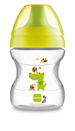 MAM Babyartikel, Tazza antigoccia per l'apprendimento, 190 ml, Giallo (gelb)