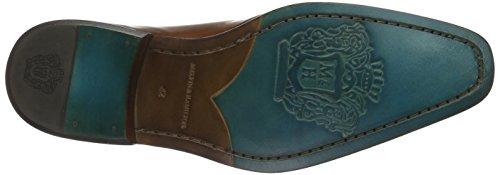 Melvin & Hamilton Herren Clark 13 Oxford Beige (Crust Tan/Toe E-Blue/LS)