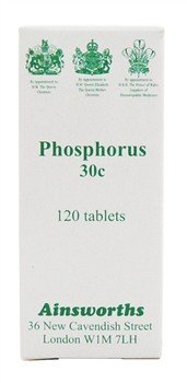 3179dPh7yYL - Ainsworths 30C Phosphorus Homoeopathic Remedy - Pack of 120 Tablets Reviews and price compare uk