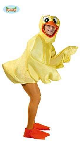 stüm für Erwachsene Gr. M/L, Größe:L (Gummi Ente Kostüm)