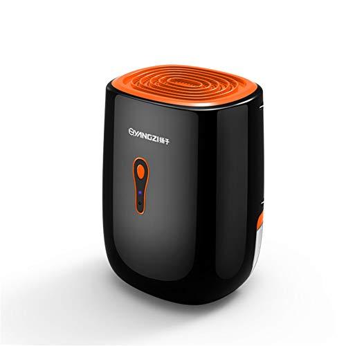 JIANGYE Mini-Luftentfeuchter, tragbar, 800 ml, effiziente Energieentfeuchter für Auto, Shutoff Ultra Quiet Luftfeuchtigkeit, Wassertank, entfernbar für Home RV Bad, Schlafzimmer
