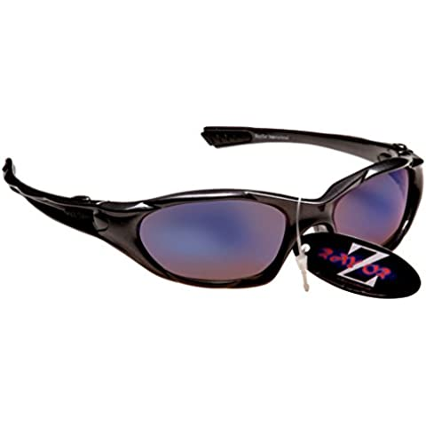 Rayzor Professional Lightweight UV400 GunMetal Grey Sports Wrap Cricket Sungl...