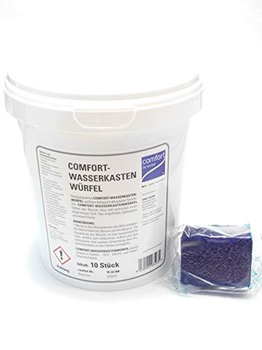 WC-Wasserkastenwürfel Comfort - 10er Set im Eimer (Pro-comfort-set-tool)