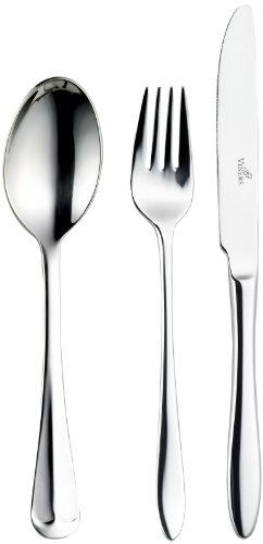 Viners Rattail 24-Piece Cutlery Set, Gift Boxed