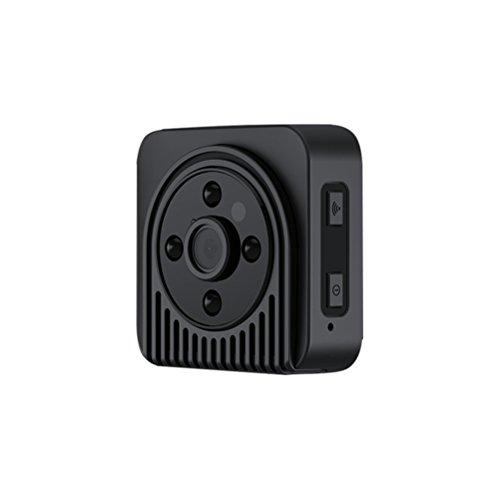 Recorder Sicherheit Video (LEDMOMO WiFi Kamera mit Nachtsicht und Überwachung 720P HD 150 Grad Weitwinkel Infrarot Sicherheit Kamera Video Recorder (schwarz))