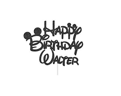 Claude6yhAly Alles Gute zum Geburtstag Cake Topper personalisierte Cake Topper Maus Ohr Cake Topper