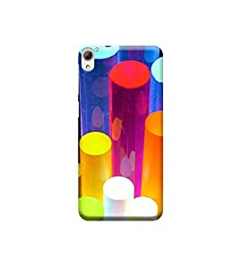 Ebby 3d printed back case cover for HTC 826(Premium Designer Case)