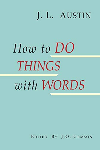 How to Do Things with Words por J. L. Austin