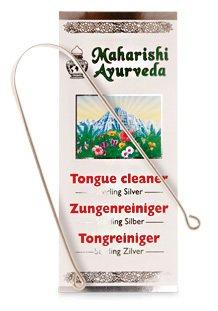 Maharishi Ayurveda versilberter Zungenreiniger Tongue cleaner
