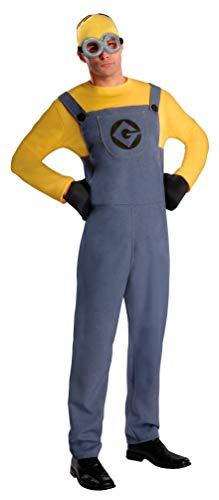 Einfach Verkleiden Kostüm - Rubie's 3887201STD - Minion Dave Dress - Adult, Verkleiden und Kostüm