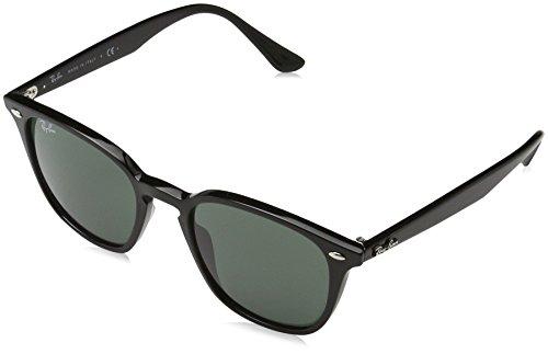 Ray Ban Unisex - Erwachsene Sonnenbrille RB4258, (Gestell: schwarz,Gläser: grün 601/71), Small (Herstellergröße: 50)