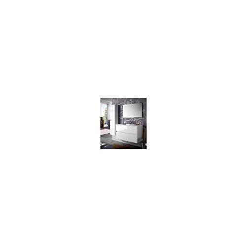 Salgar noja 1000 - Mueble noja 1000/blanco +lavabo porcelana