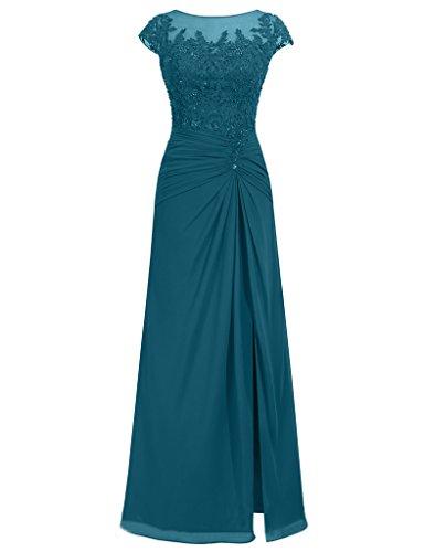 JAEDEN - Robe - Femme Bleu-vert