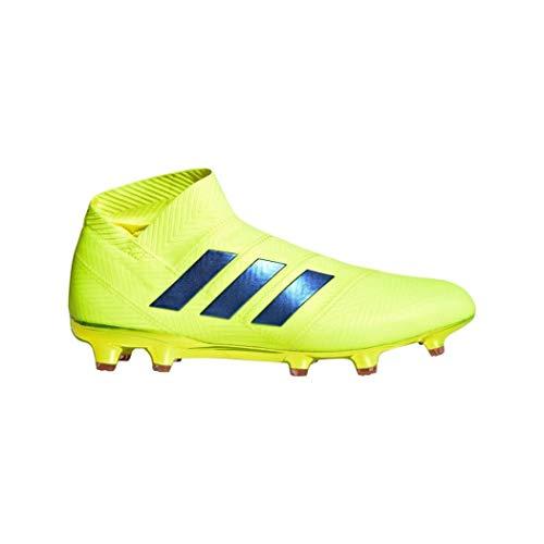 adidas Performance Nemeziz 18+ FG Fußballschuh Herren Neongelb/blau, 9.5 UK - 44 EU - 10 US